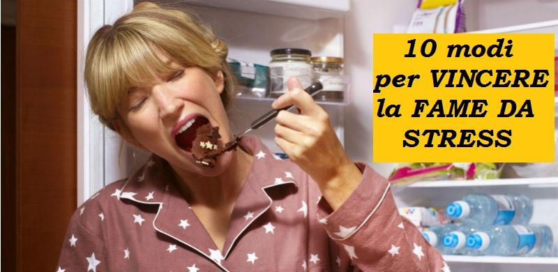 fame da stress-dietista benacchio